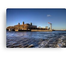 Escape from Ellis Island Canvas Print