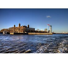 Escape from Ellis Island Photographic Print