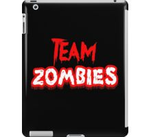 Team Zombies Scary iPad Case/Skin