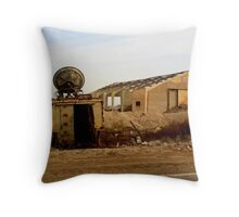No One Is Listening Now Throw Pillow