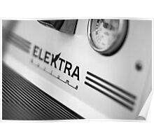 Elektra Espresso Machine Detail Poster