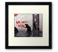 Alley Rat Framed Print