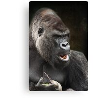 Do you mind I'm trying to eat! Canvas Print