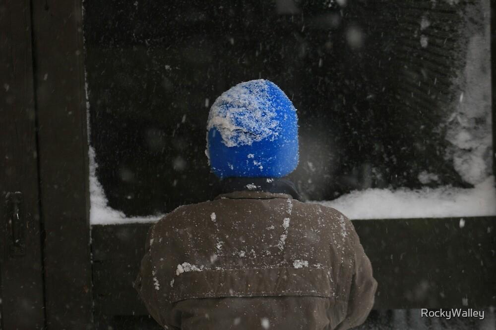 Blue Hat by RockyWalley