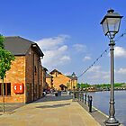 Along Barton Marina Promenade by Rod Johnson