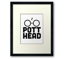 Pott Head Framed Print