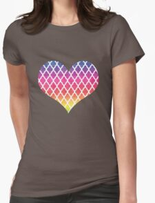 Colorful  Rainbow Moroccan  Pattern T-Shirt