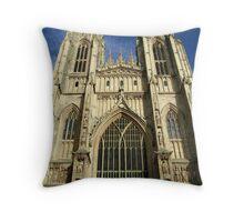 Beverley Minster, East Yorkshire, UK. Throw Pillow