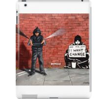 Let us Spray iPad Case/Skin