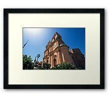Mellieha Parish Church, Malta Framed Print
