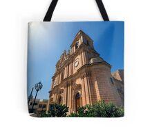 Mellieha Parish Church, Malta Tote Bag