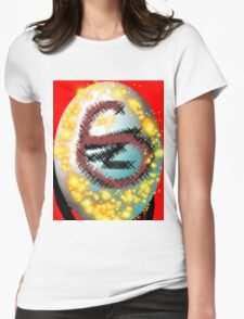 Scatter Colors  Womens Fitted T-Shirt