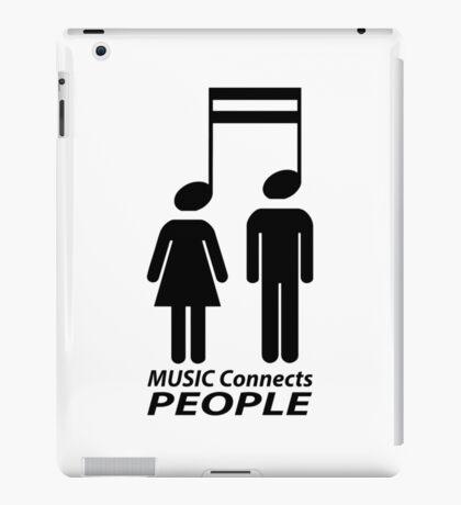Music and people iPad Case/Skin