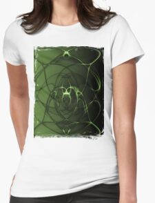 Abstract Digital Background Womens Fitted T-Shirt