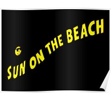 Neon Extravaganza Part One : Sun On The Beach Poster