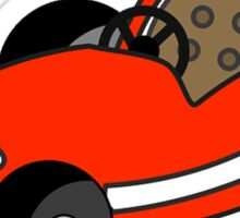 Kids Little Go-Kart Sticker