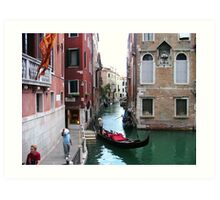 Venice pt1 Art Print