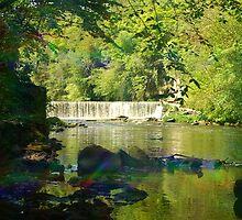 Nik's Waterfall by Nik Watt
