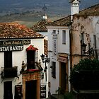 spanish street by Kent Tisher