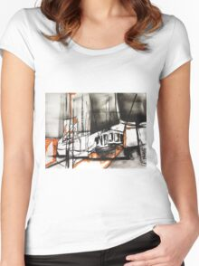The Trawlers Women's Fitted Scoop T-Shirt