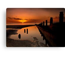 East Head In HDR Canvas Print