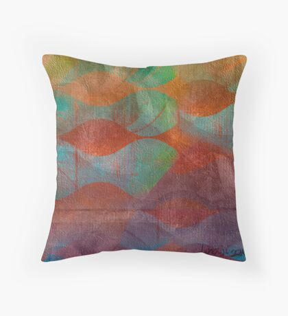 Sperm Waters Throw Pillow