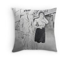 Streets of El Paso, 1946 Throw Pillow