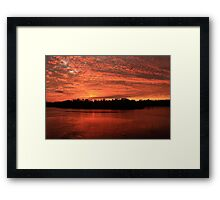 Earth, Water, Air and Fire Framed Print