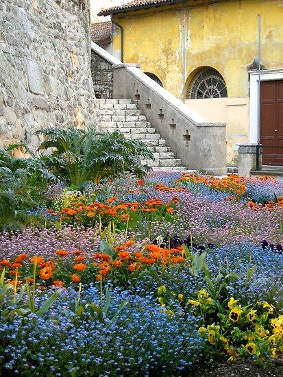 A flowered corner by annalisa bianchetti