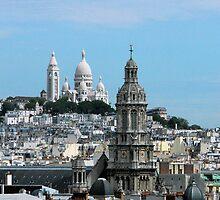 C'est la Vue! Rooftop views of Paris by Marita Sutherlin