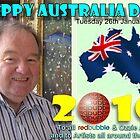 Happy Australia Day 2010 by Ken Tregoning