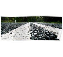 bitumen road Poster
