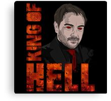 King of Hell Crowley (V.2) Canvas Print