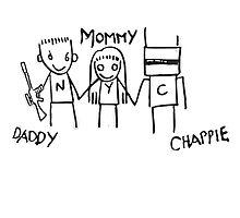 chappie family by sakuradrop