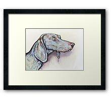 Always by your side Framed Print
