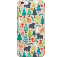 summer woodland iPhone Case/Skin