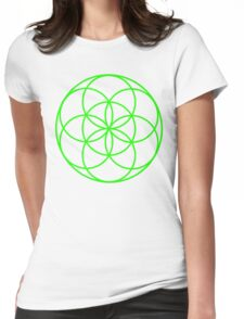 Motion Green Womens Fitted T-Shirt