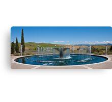 Napa Valley Fountain Canvas Print