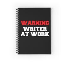 WRITER AT WORK Spiral Notebook