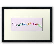 The Weakest Link Framed Print