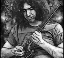 """Jerry Garcia - """"Young Dark Star"""" 1967 Grateful Dead by OnePeaceTees"""