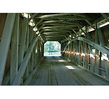 Inside the Bridge in Lancaster County, Pennsylvania Photographic Print
