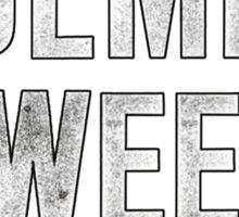Elementary - Holmes Sweet Holmes Sticker