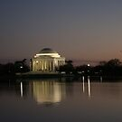 Jefferson Memorial in Washington, D. C. by Susan Russell