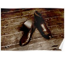 Leather Boots Poster