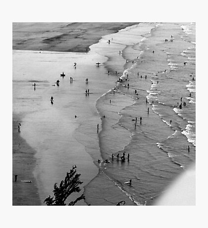 Figures in a Landscape Photographic Print