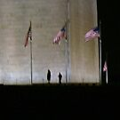 Flags Around the Washington Monument  by Susan Russell