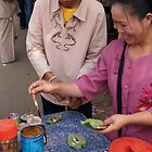 Making up a betel nut chew by fabianfred