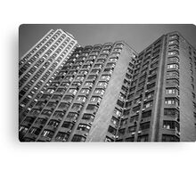 Black and White Living in New York Canvas Print