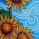 Sunflowers by Juan Alcantara